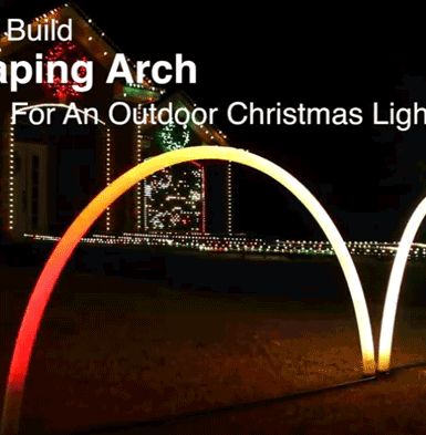 Welcome to the johnson family light show how to build a leaping arch solutioingenieria Gallery